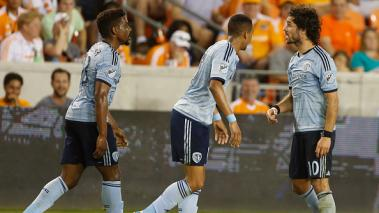 Houston Dynamo, Sporting Kansas City, MLS, Estados Unidos, Luis Garrido, Roger Espinoza