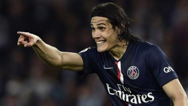 Edinson Cavani, Paris Saint Germain, Ligue 1 Francia, Guingamp, Uruguay