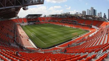 A general view from the Northeast side of BBVA Compass Stadium before the match between DC United and the Houston Dynamo on May 12, 2012 in Houston, Texas. (Photo by Eric Christian Smith/Getty Images)