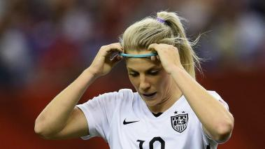 Julie Johnston es una de las jugadoras de Estados Unidos nominada al Balón de Oro. Foto: Getty Images.