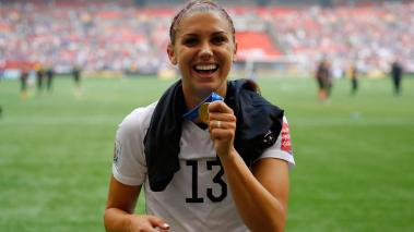 Alex Morgan, operada de la rodilla (Foto: Getty Images)