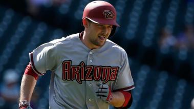 Phil Gosselin #15 of the Arizona Diamondbacks rounds the bases on his three run home run off of Miguel Castro #46 of the Colorado Rockies to take a 6-2 lead at Coors Field on September 1, 2015 in Denver, Colorado. (Getty Images)