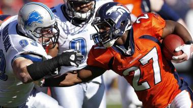 Denver Broncos vs. Detroit Lions. Foto: Getty Images