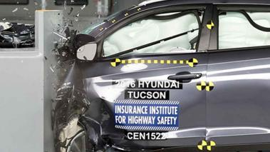 Hyundai Tucson 2016, Top TOP SAFETY PICK+ del IIHS