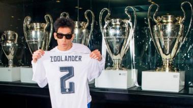 Derek Zoolander, el fan número 1 del Real Madrid.