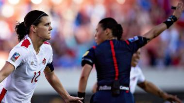 Christine Sinclair. Foto: Mexsport