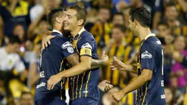 Rosario Central goleó al River Plate uruguayo. Foto: Getty Images