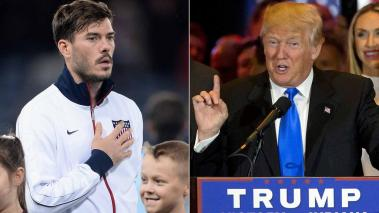 Brad Evans y Donald Trump. Foto: Getty Images/AP