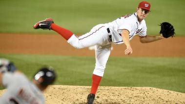 Stephen Strasburg seguirá con los Nacionales de Washington. Foto: Getty Images