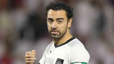 Xavi Hernández jugará su primer final de Copa en Catar. Foto: Getty Images