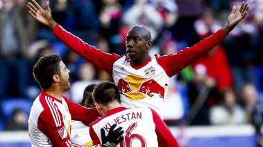 Bradley Wright-Phillips, de NY Red Bulls. Foto; Getty Images