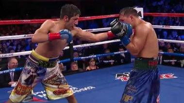 John Molina Jr. consiguió una victoria importante. Foto: Showtime video
