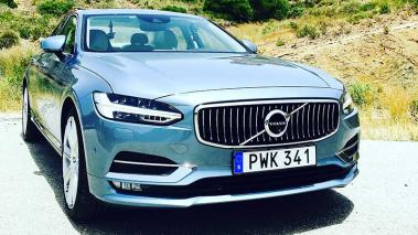 Video Test Drive Volvo S90 2017 en Estepona, España