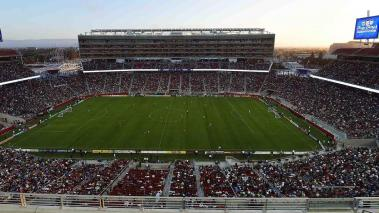 A detailed view of Levi Stadium during an MLS Soccer game between the Seattle Sounders FC and San Jose Earthquates on August 2, 2014 in Santa Clara, California. (Photo by Thearon W. Henderson/Getty Images)