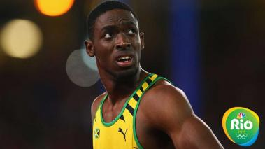 El velocista jamaicano Kemar Bailey-Cole. Foto: Getty Images