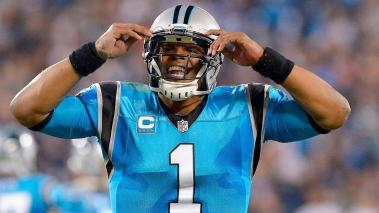 Cam Newton #1 of the Carolina Panthers reacts after a touchdown against the New Orleans Saints  during the game at Bank of America Stadium on November 17, 2016 in Charlotte, North Carolina. (Getty Images)