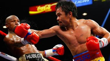 Manny Pacquiao vs. Floyd Mayweather. Foto: Getty Images