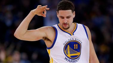 Klay Thompson condujo a los Warriors al triunfo ante Suns