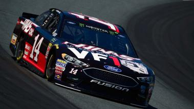 Clint Bowyer, driver of the #14 Haas 30 Years of the VF1 Ford, practices for the Monster Energy NASCAR Cup Series Foxwoods Resort Casino 301 at New Hampshire Motor Speedway on July 20, 2018 in Loudon, New Hampshire. (Getty Images)