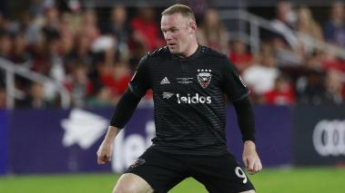 Wayne Rooney #9 of DC United controls the ball. (Getty Images)