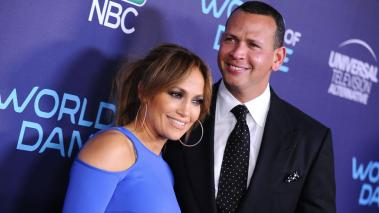 Jennifer Lopez y Alex Rodriguez. Getty Images