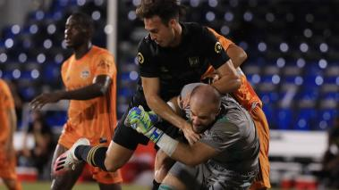 Houston Dynamo y LAFC igualaron en MLS Is Back. (Foto: AFP)