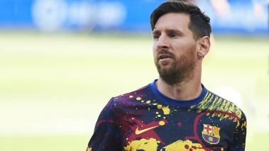 Lionel Messi of FC Barcelona against Deportivo Alaves at Estadio de Mendizorroza on July 19, 2020 in Vitoria-Gasteiz, Spain. (Getty Images)