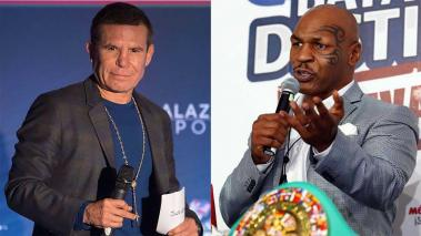 JC Chavez y Mike Tyson