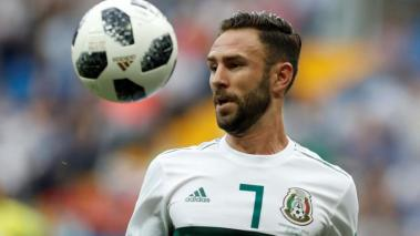 Miguel Layun of Mexico is seen during the 2018 FIFA World Cup Russia Group F match between Korea Republic and Mexico at the Rostov Arena in Rostov-On-Don, Russia on June 23, 2018. (Getty Images)