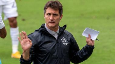Los Angeles Galaxy Head Coach Guillermo Barros Schelotto during the match against Los Angeles FC at the Banc of California Stadium on October 25, 2020 in Carson, California. Getty Images