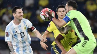 messi vs ospina getty