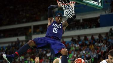 Carmelo Anthony abandona el Team USA