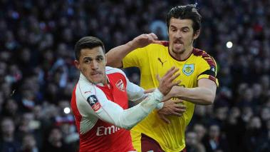 Burnley medirán fuerzas ante el sólido Arsenal. Foto: Getty Images