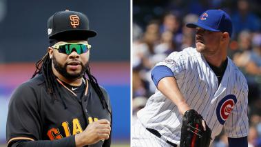 Johnny Cueto y Giants se miden a Jon Lester y Cubs