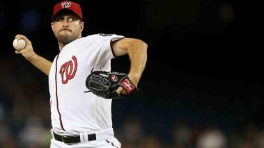 Max Scherzer, el As bajo la manga de Washington. Foto: Getty Images