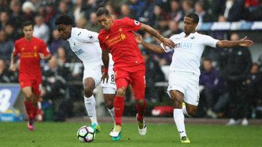 Liverpool intentará desquitarse con el Swansea City, último de la Premier League