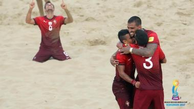 Portugal, Beach Soccer. Getty Images