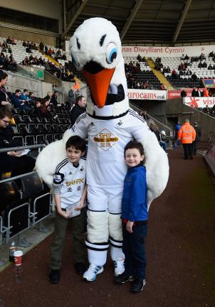 Cyril The Swan, Swansea City