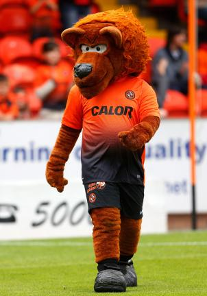 Terry the Terror, Dundee United