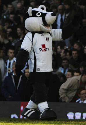 Fulham's Billy the Badger