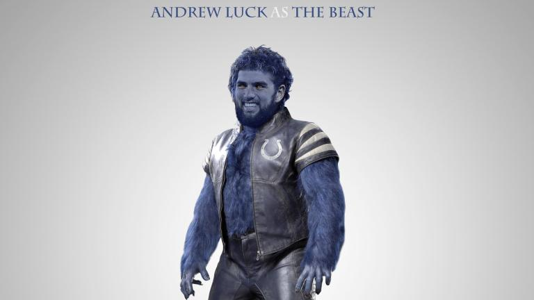 Andrew Luck, de Indianapolis Colts.