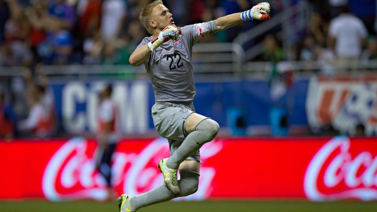 William Yarbrough. Acción del juego amistoso Estados Unidos vs. México. Foto: imago7