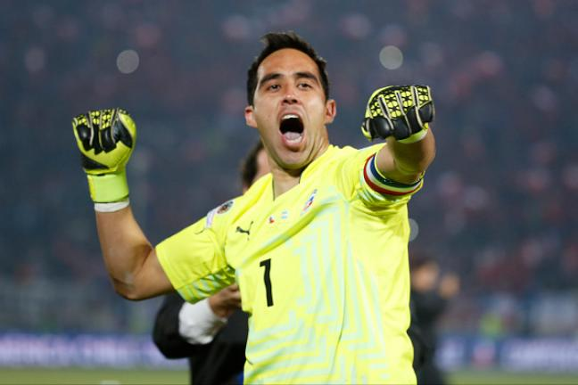 Portero: Claudio Bravo (Chile) Foto: Getty Images