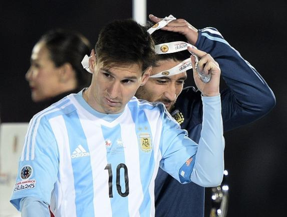 Delantero: Lionel Messi (Argentina) Foto: Getty Images