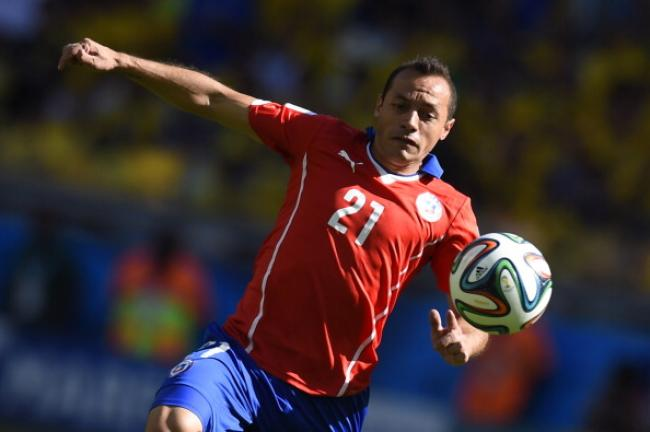 Mediocampista: Marcelo Díaz (Chile) Foto: Getty Images