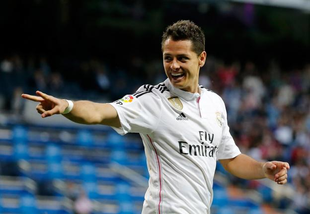 <b>Javier Hernández</b><p>De Real Madrid a ???</p><p>Foto: Getty</p>