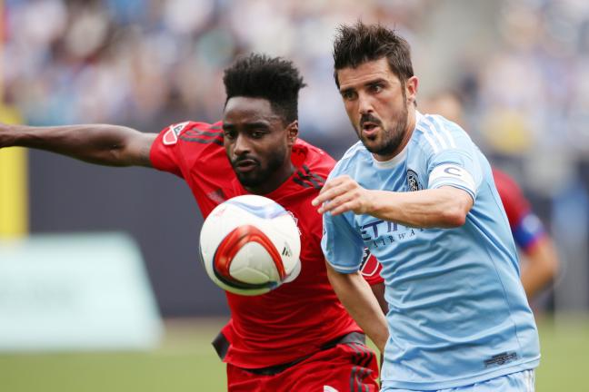 <b>David Villa</b><p>De Atlético de Madrid a New York City</p><p>Foto: Getty</p>
