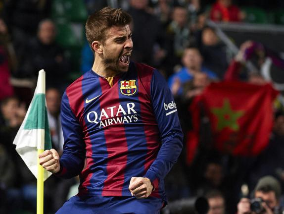 <b>Central.- Gerard Pique</b><p> Barcelona / 40 ME</p><p>Foto: Getty</p>