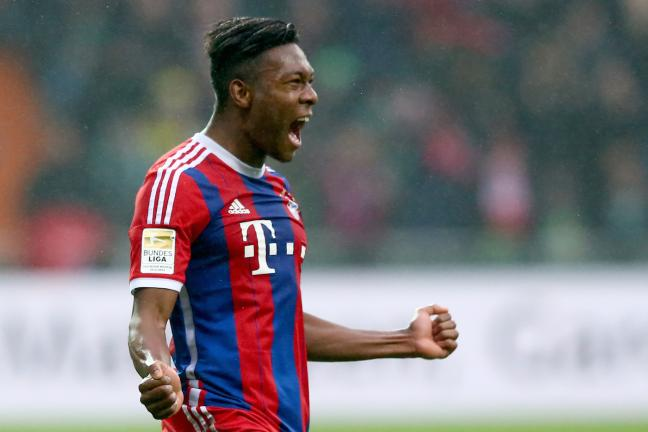 <b>Lateral Izquierdo.- David Alaba</b><p>Bayern Munich / 38 ME</p><p>Foto: Getty</p>