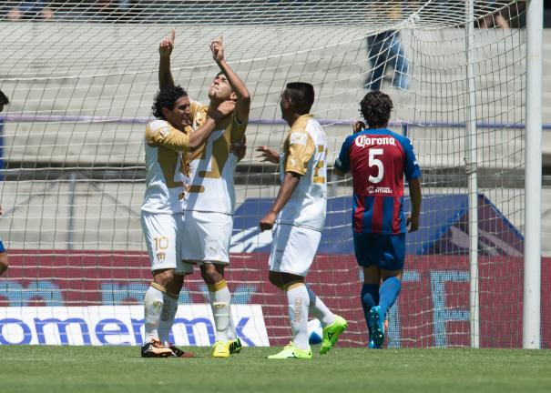<b>Clausura 2014</b> <p>Pumas 5-0 vs Atlante</p> <p>Foto: Mexsport</p>